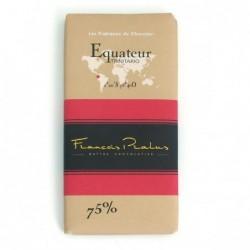 Tablette Noir 75% Equateur...
